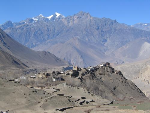 Village near the Kingdom of Mustang