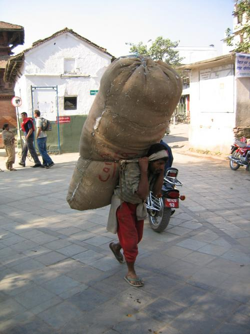 A typical light Nepali load