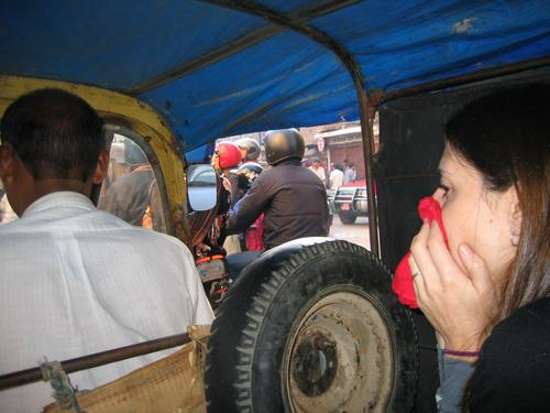 Kathmandu's rush hour