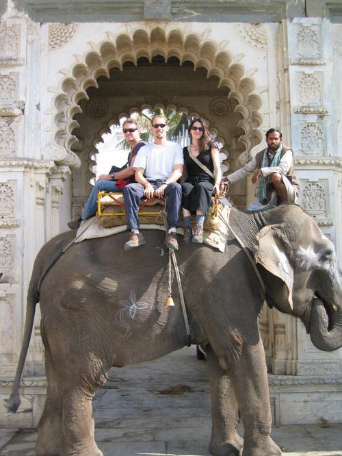 Udaipur's premier mode of transportation, Ramu the Elephant