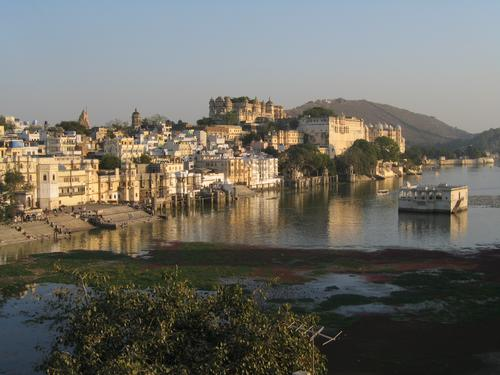 "Udaipur, Rajasthan (where James Bond's ""Octopussy"" was filmed)"