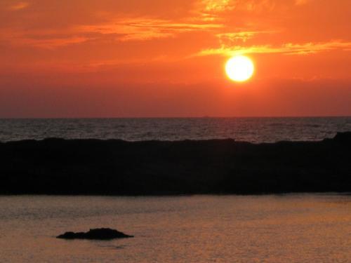 Sunset at Om Beach