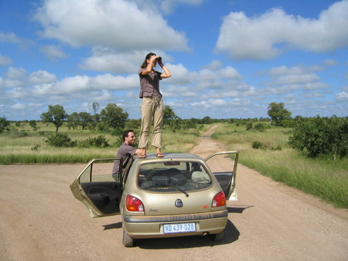 """""""Whatever you do, NEVER get out of the car in Kruger."""""""