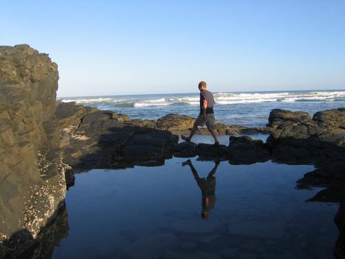 Getting reflective in Coffee Bay