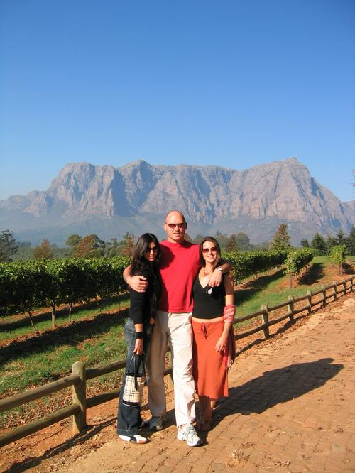 Agent Belchers & Co. in Capetown's wine country