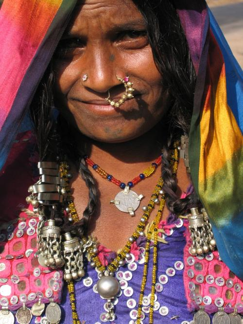 "Traditional ""Lamani"" woman"