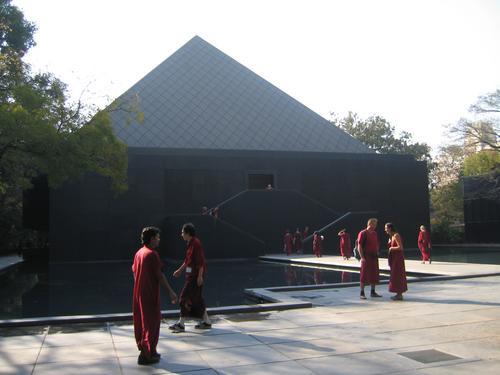 Osho Ashram Pyramid