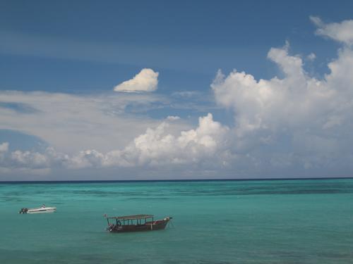 The impossibly beautiful waters of Zanzibar