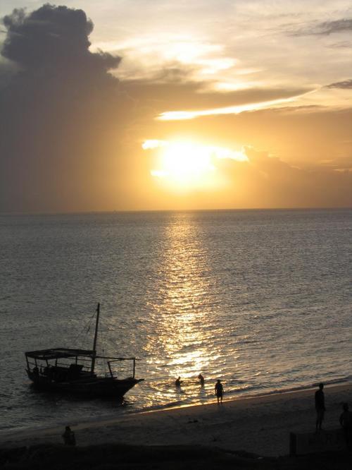 Sunset in Stonetown, Zanzibar