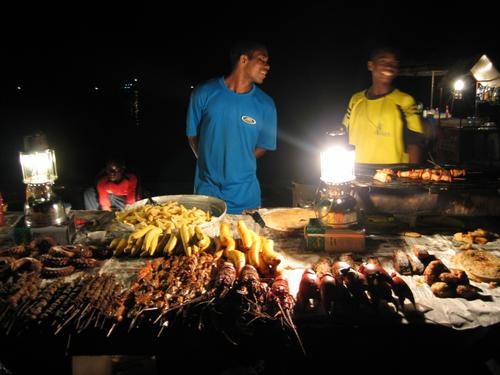 Seafood Zanzibar Style